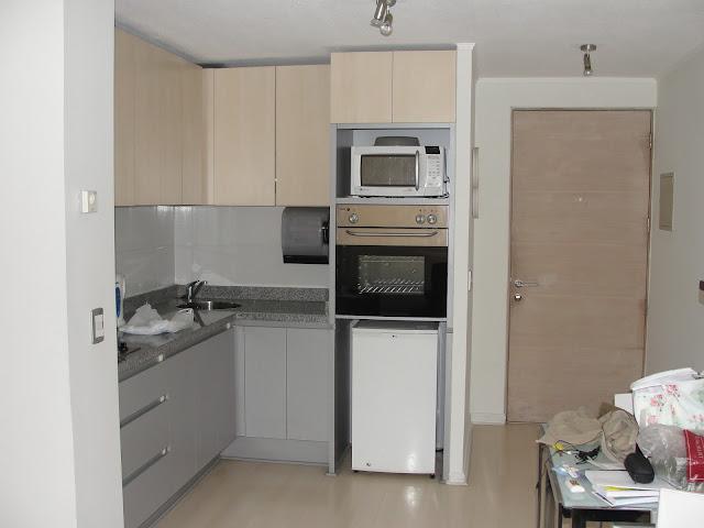 Cozinha do apartamento.
