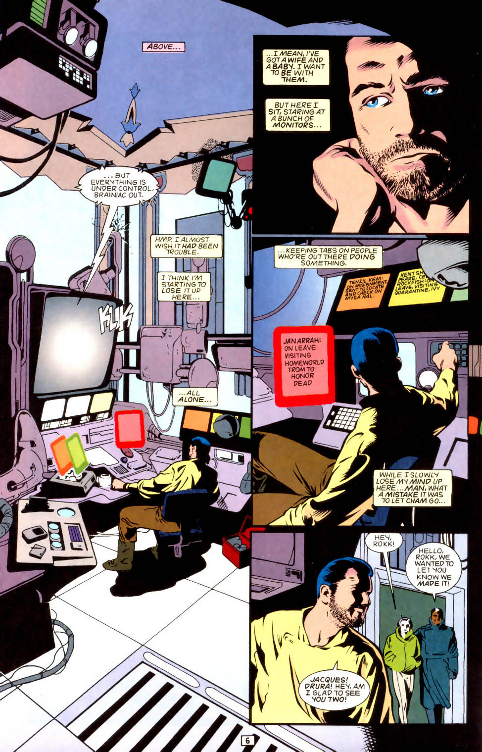 Legion of Super-Heroes (1989) 43 Page 6