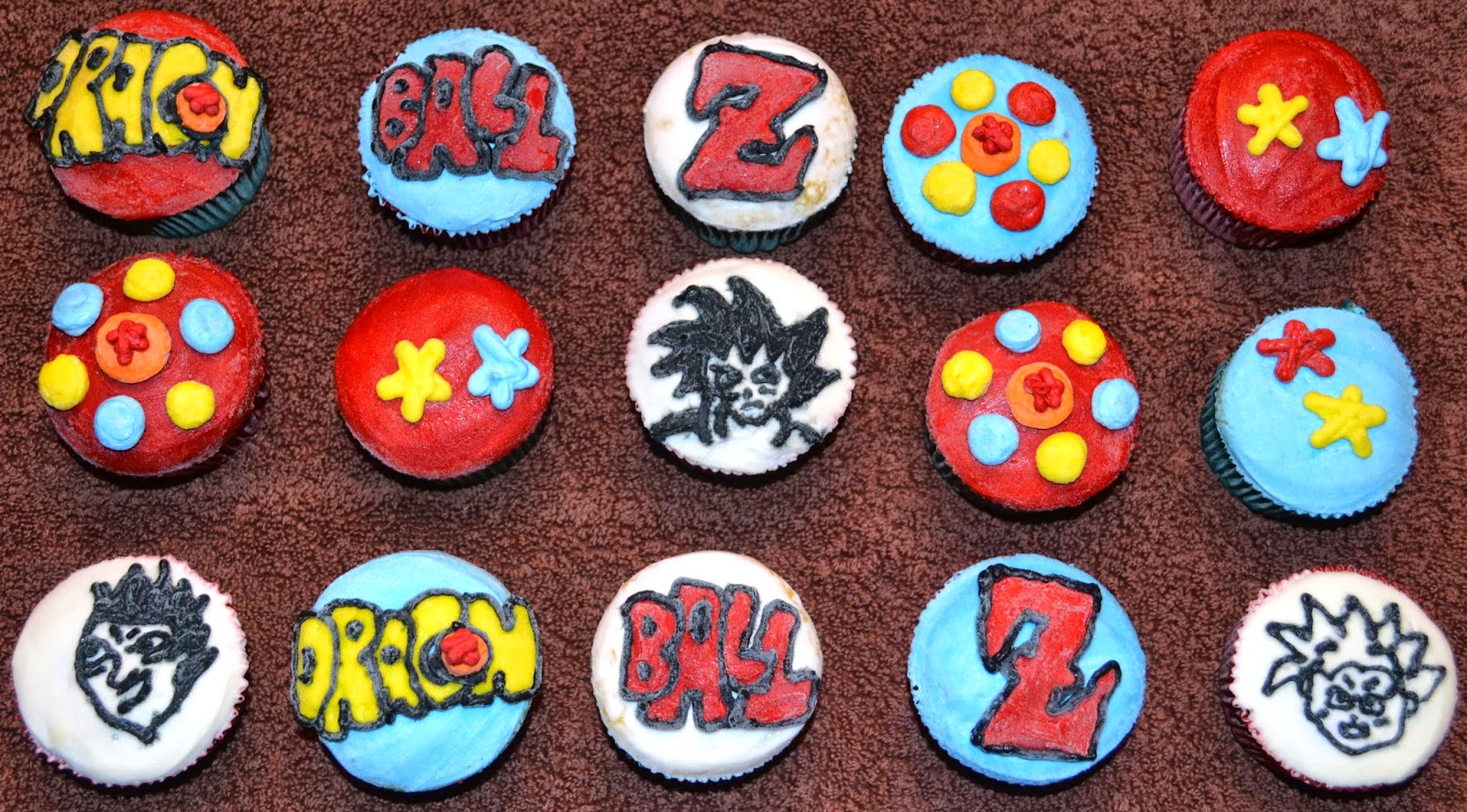 Affordable Cakes By Tiffany Dragon Ball Z Cupcakes