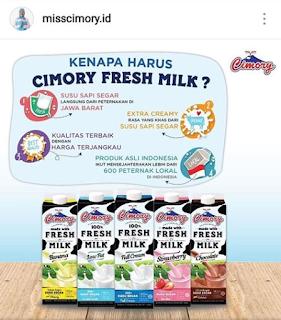 Lowongan Kerja Bali di PT Cisarua Mountain Dairy Divisi Miss Cimory