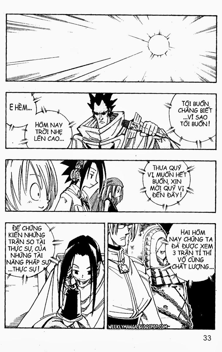 Shaman King [Vua pháp thuật] chap 137 trang 2