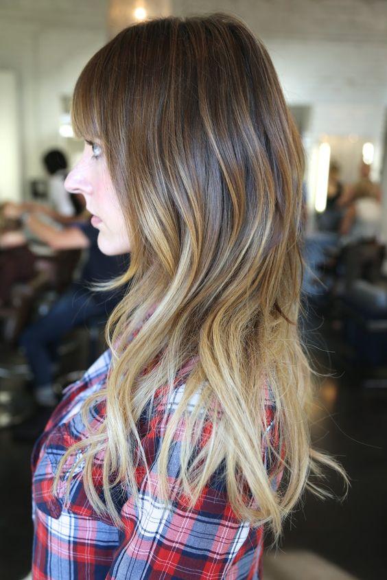 La moda en tu cabello modernas mechas californianas 2016 2017 for Imagenes de mechas