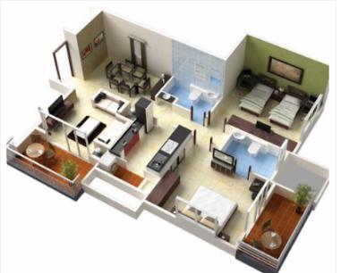 rancangan rumah murah