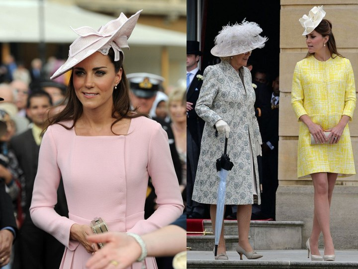 Duchess Kate A Garden Party For Kate The Cambridges Looking At Schools For George U0026 Win $500 ...