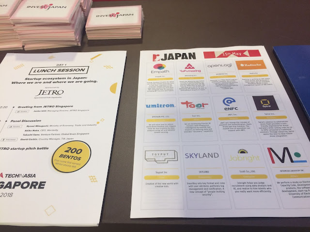 Pamphlets of Japan pavilion.