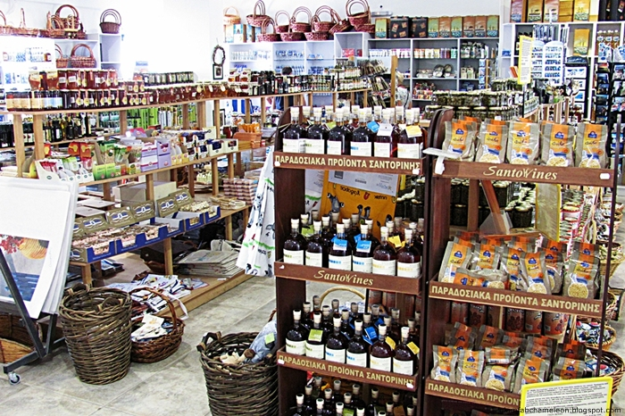 Santo wines Santorini products and souvenirs