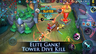 Hancurkan 1 Turret Mobile Legends