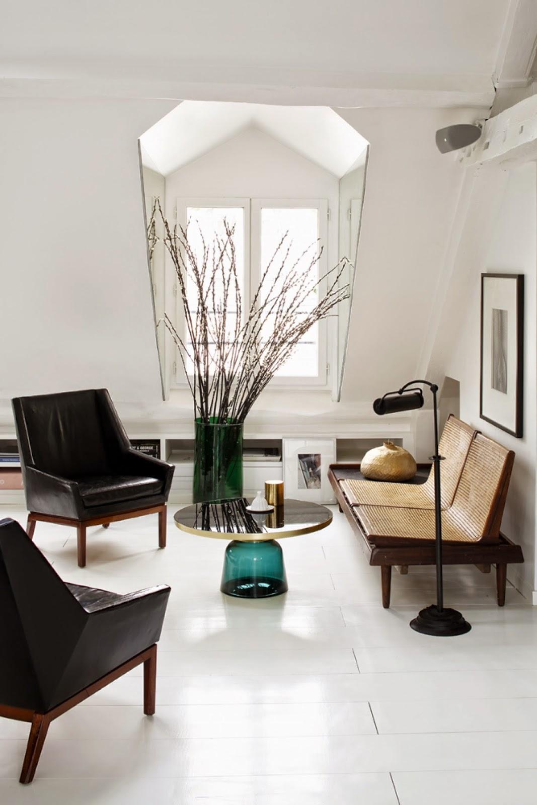 nest of pearls adorable paris duplex by sarah lavoine. Black Bedroom Furniture Sets. Home Design Ideas