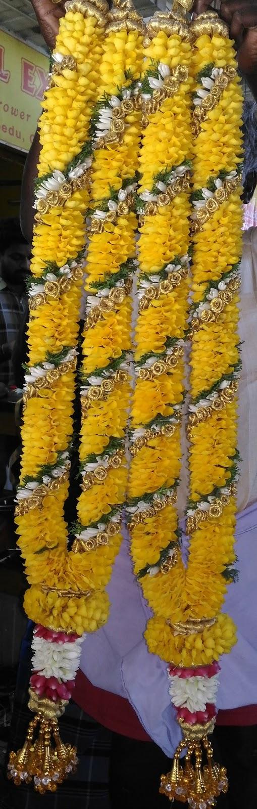Flower Garlands And Event Management November 2017