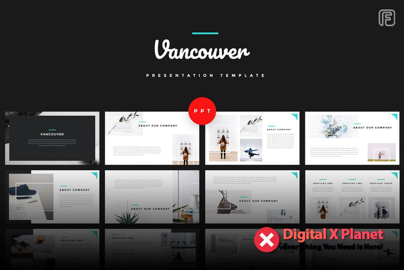 Vancouver Creative Powerpoint Template Free Download