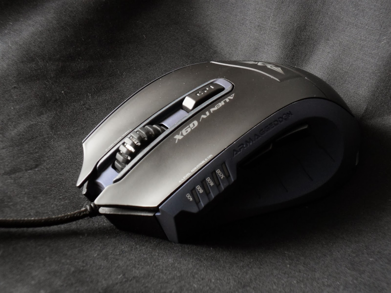 First Look & Review - Armaggeddon Alien IV G9X Optical Gaming Mouse 28