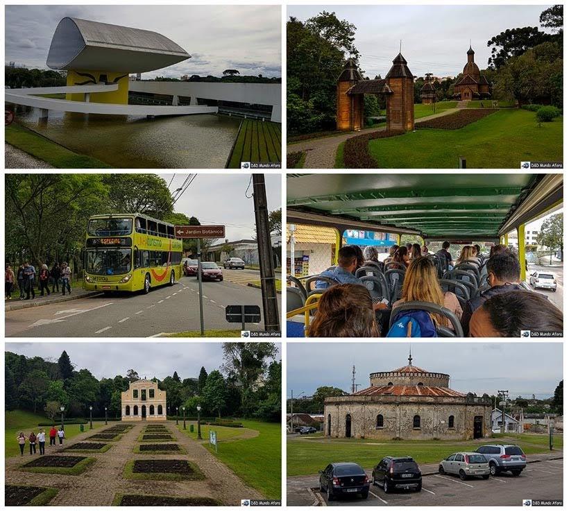 City tour no ônibus da Linha Turismo de Curitiba
