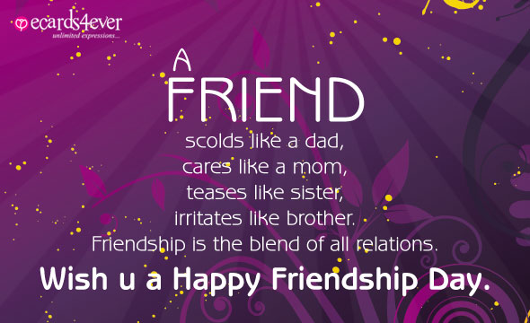 POEMS FOR FRIENDSHIP DAY