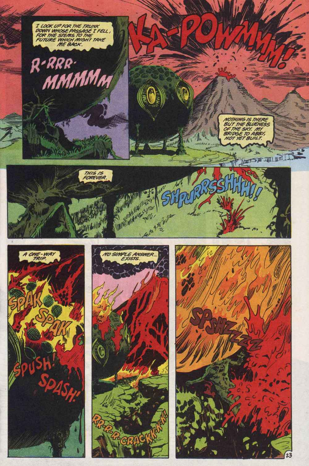 Swamp Thing (1982) Issue #89 #97 - English 24