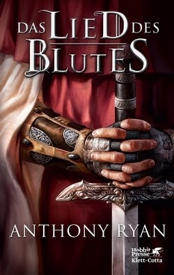 Bücherblog. Rezension. Buchcover. Das Lied des Blutes (Band 1) von Anthony Ryan. High Fantasy.
