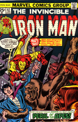 Iron Man #82, Super-Apes