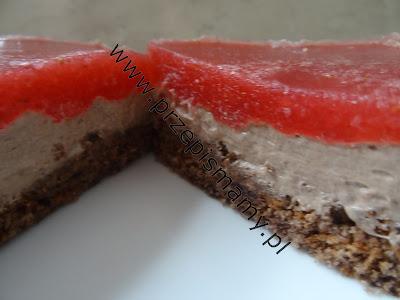 Ciasto z mrożonymi truskawkami