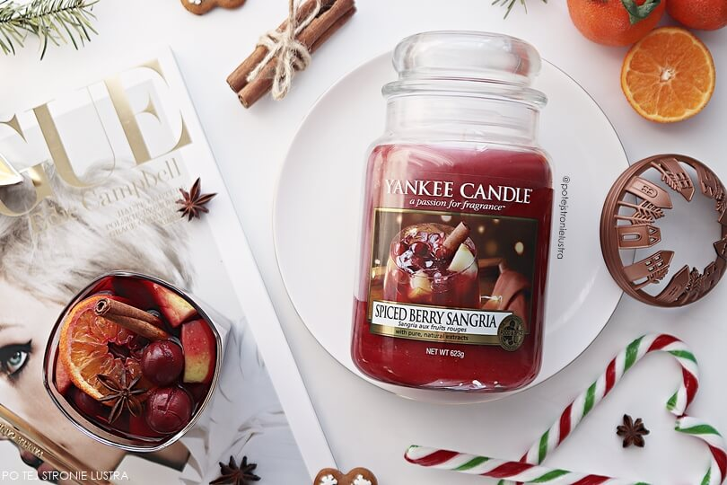 yankee candle spiced berry sangria zapach limitowany