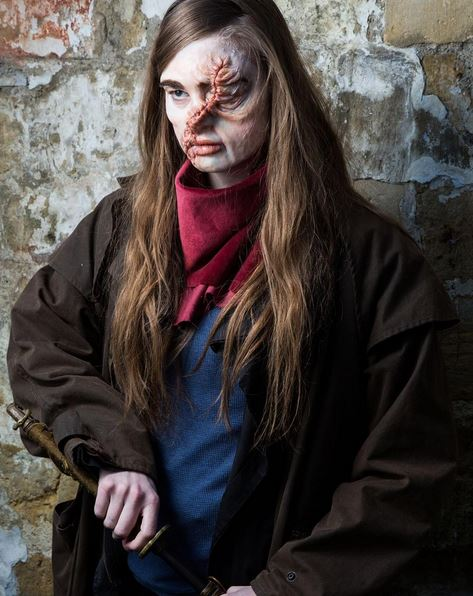 hesters facial scar costume