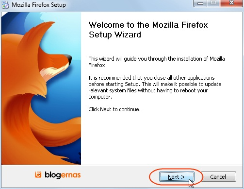 Cara Mudah Install Mozilla Firefox (Full Gambar Tutorial)