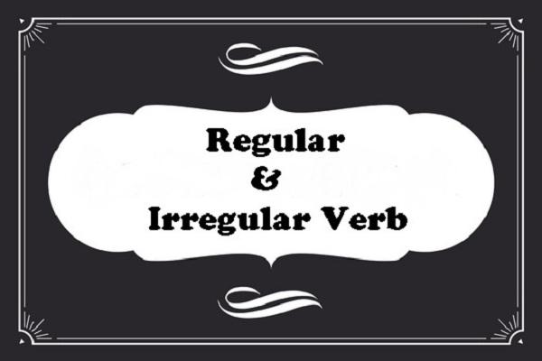 Regular verb, Irregular verb, grammar, bahasa inggris