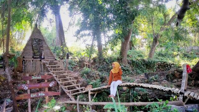 gresik24jam - Wisata Alam Buatan Anak Kampung Cocok Untuk Swafoto