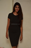 Priya Vadlamani super cute in tight brown dress at Stone Media Films production No 1 movie announcement 001.jpg