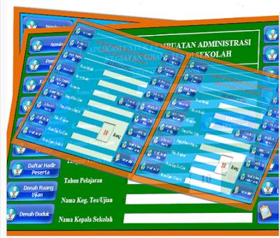 Galeri Guru : Download  Aplikasi untuk pembuatan administrasi kegiatan ujian di sekolah 2016