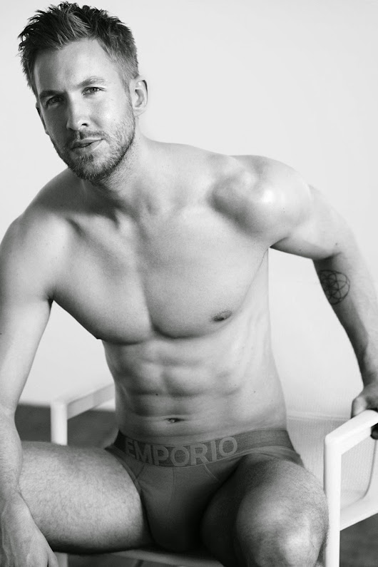 Calvin Harris  for Emporio Armani Campaign: More than sexy shirtless Scottish | Twenty Plus Magazine