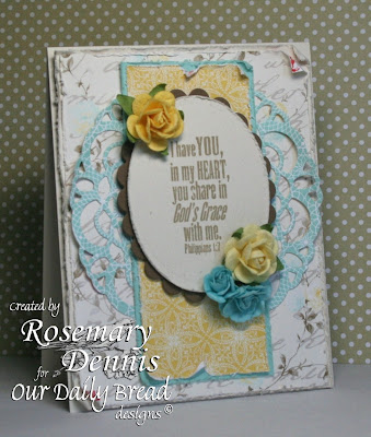 Our Daily Bread Designs, Rosemary Dennis, Sweet Friendship