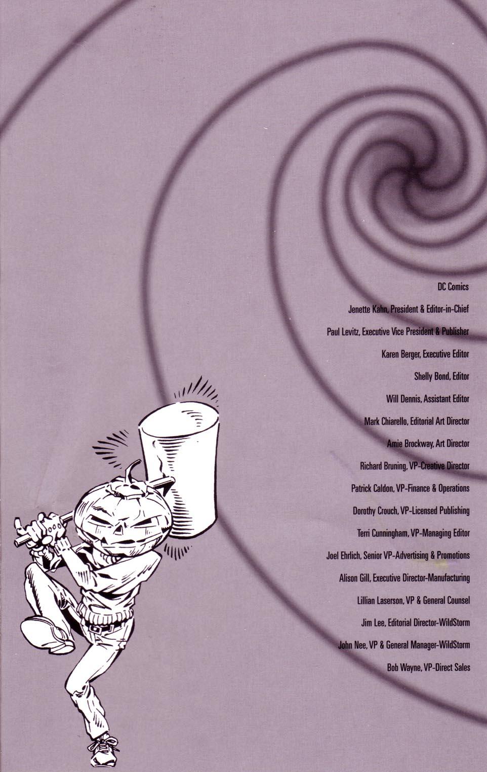 Read online Merv Pumpkinhead, Agent of D.R.E.A.M. comic -  Issue # Full - 49