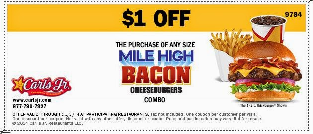 picture about Carls Jr Coupons Printable named Carls Jr Printable Discount codes Might 2018