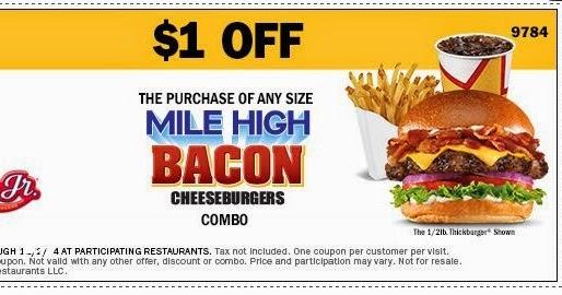 Carls jr coupons may 2019