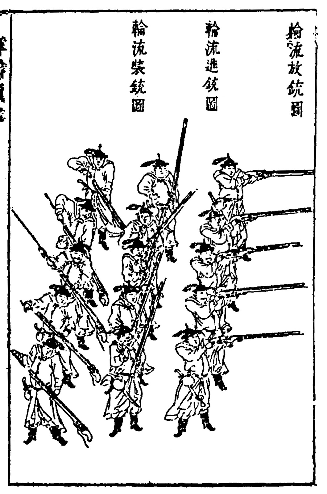 Ming Chinese Arquebusier Tactics