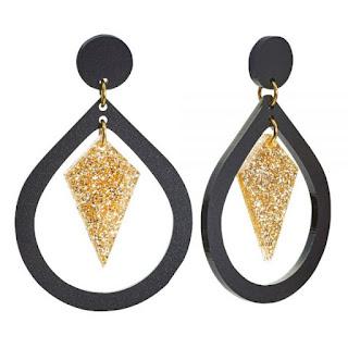 Pear and Diamond Earrings - Toolally Jewellery - Jewellery Blog