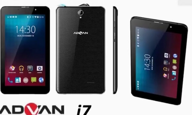 Harga Tablet Advan i7 Tahun 2017 Lengkap Dengan Spesifikasi RAM 2 GB 4G LTE Harga Rp. 1 Jutaan