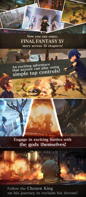 final fantasy XV fifteenth pocket edition mod apk obb androidgamesocean