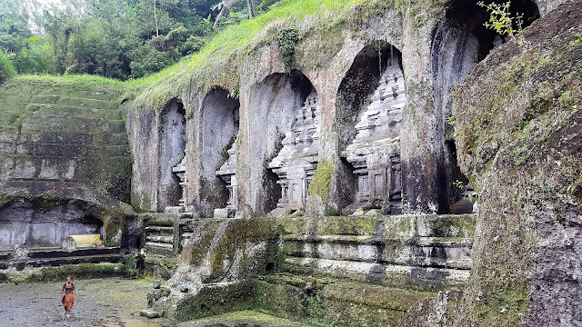 Ubud, Gunung Kawi, Tempel