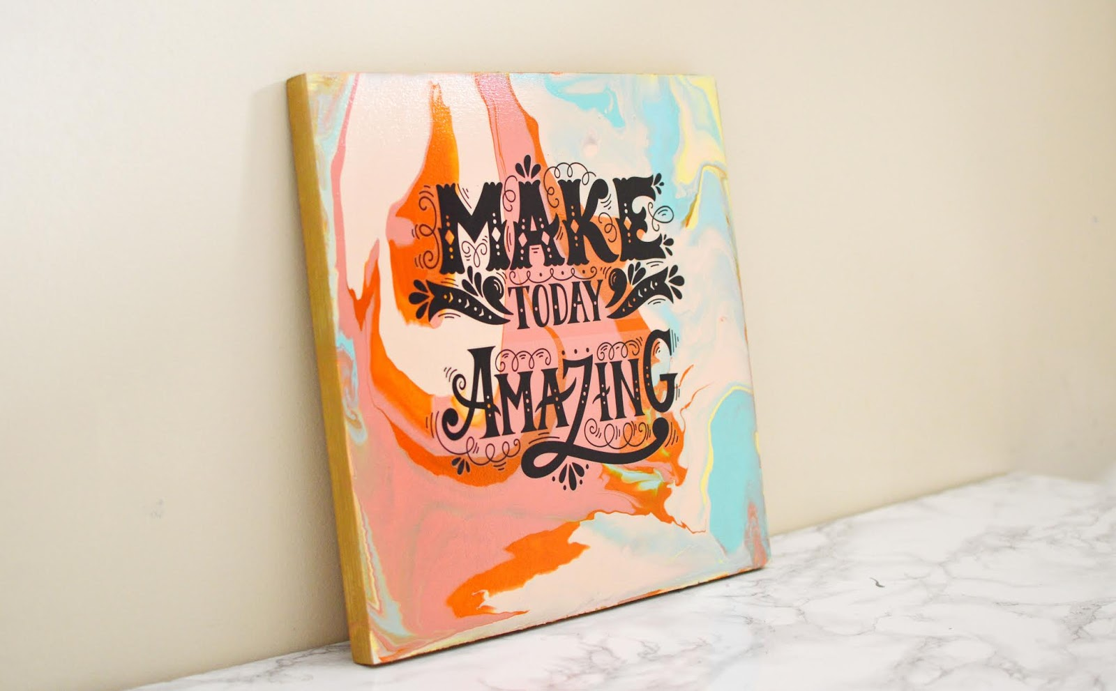 Diy Paint Pouring Project Home And Garden