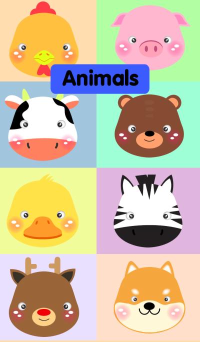 Simple Animals theme