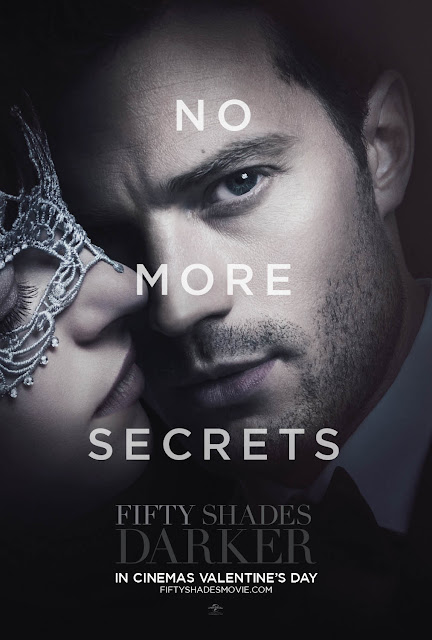 Fifty Shades Darker Movie Poster Christian No More Secrets