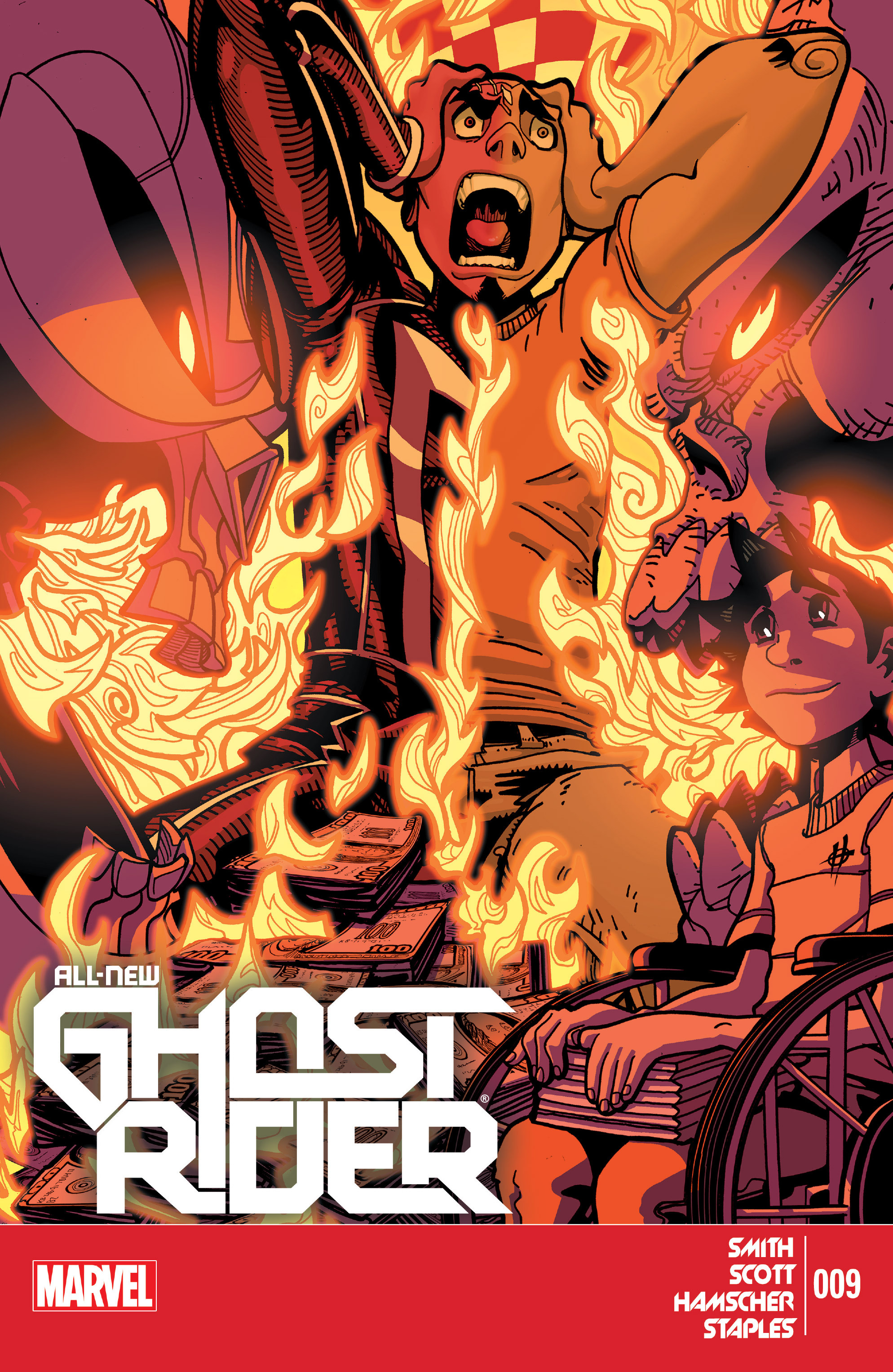 Read online All-New Ghost Rider comic -  Issue #9 - 1