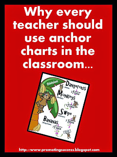 anchor charts in the classroom