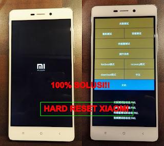 Cara Hard Reset Xiaomi