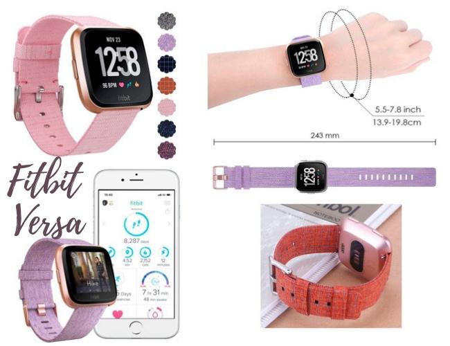 Dispositivo de Ejercicio Fitbit Versa Edición Especial de Amazon