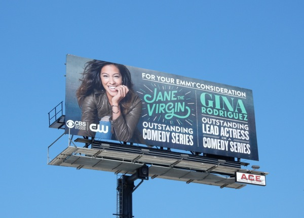 Jane The Virgin 2015 Emmy consideration billboard