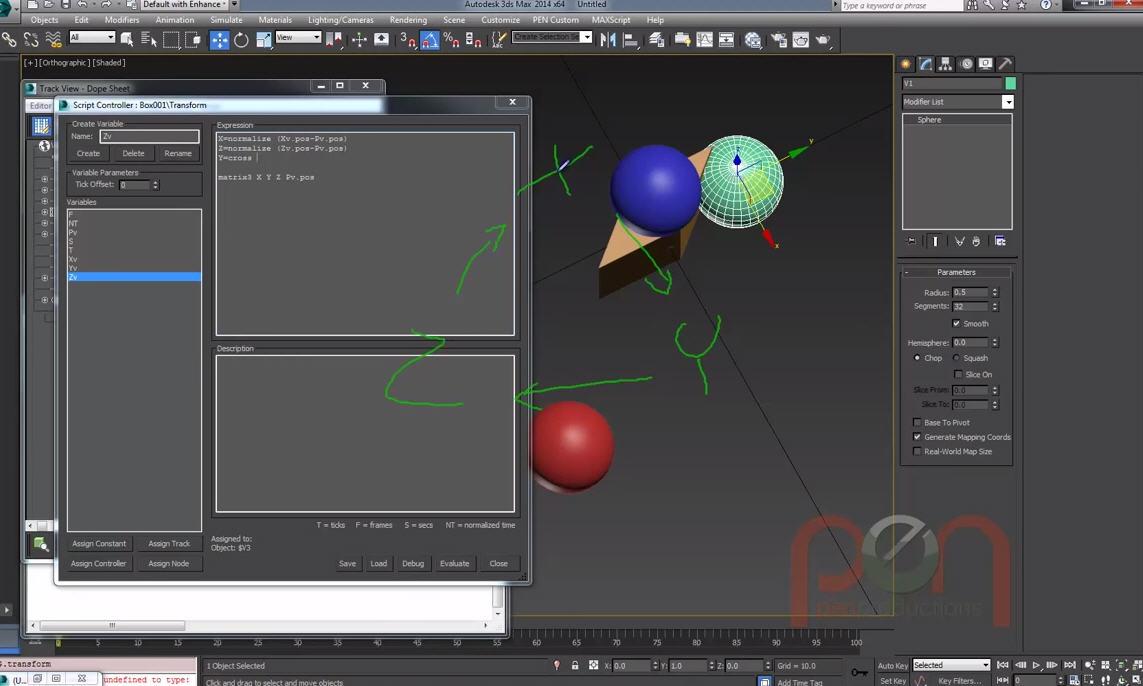 Mathmatics in 3ds Max using Max Script   CG TUTORIAL