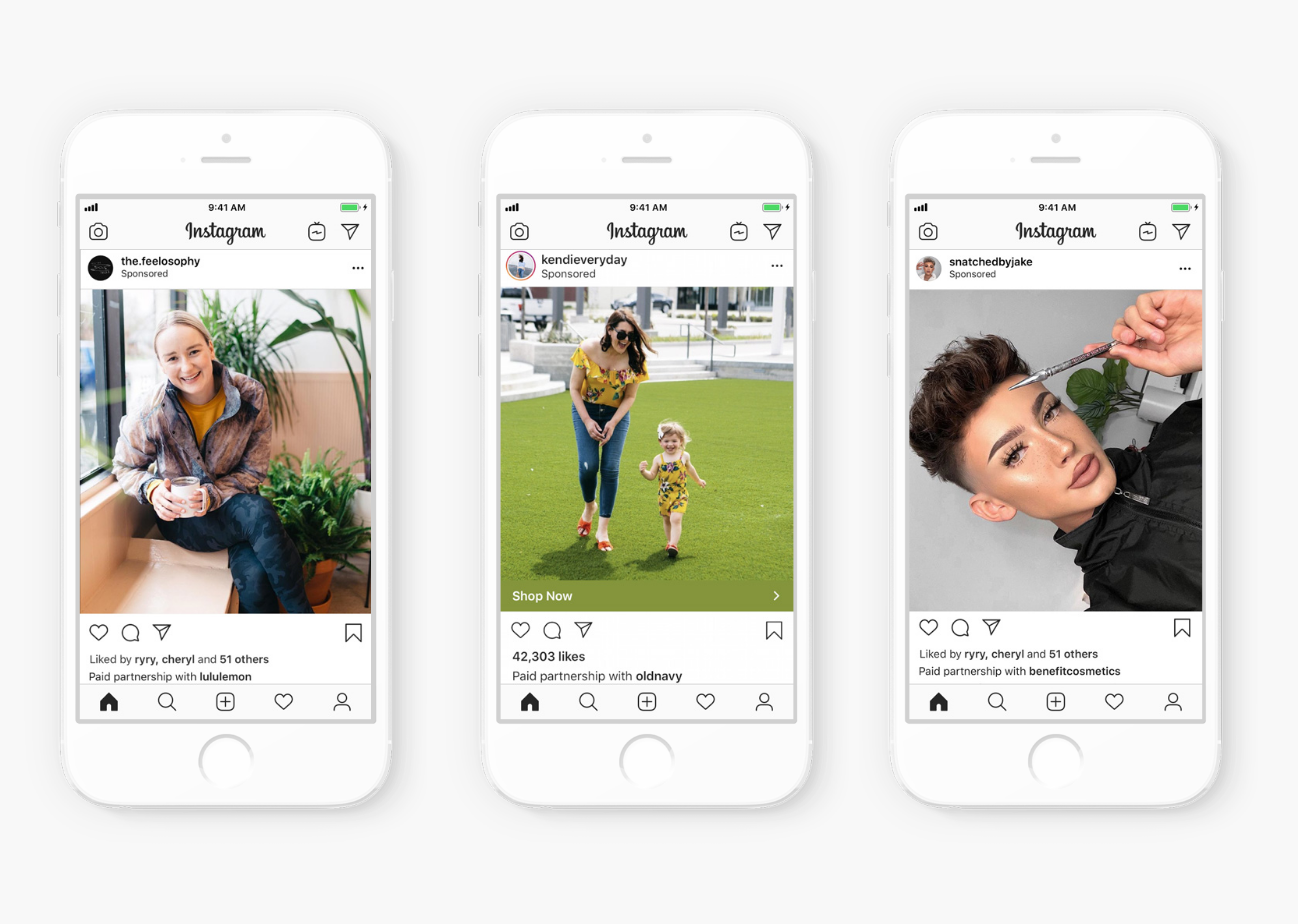 IG is introducing the ability for advertisers to promote creators' organic branded content posts as feed ads.