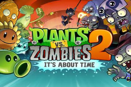 Plants vs Zombies 2 v5.5.1 Mod Apk Full (Unlimited Coins+Gems)