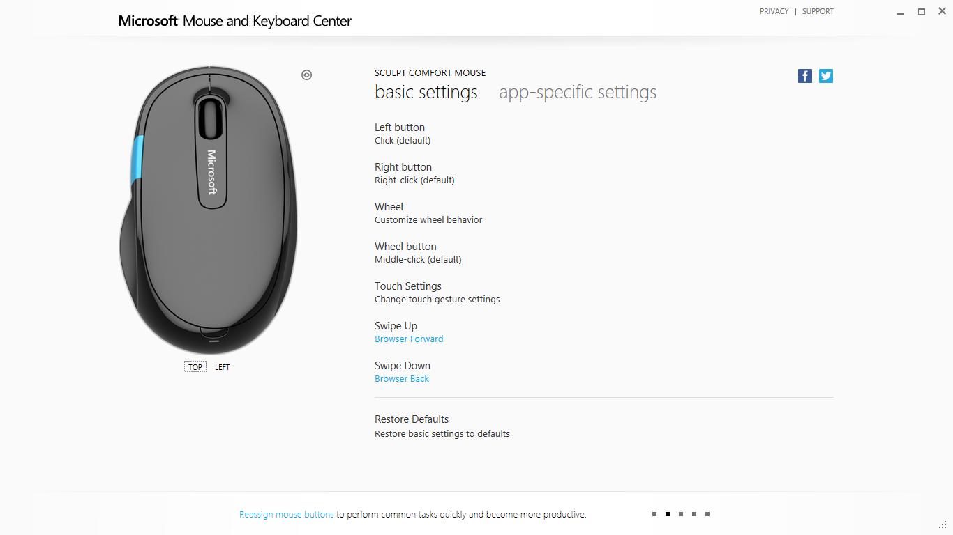 2a48a3166c4 Microsoft Sculpt Comfort Mouse | Cranial Crumbs
